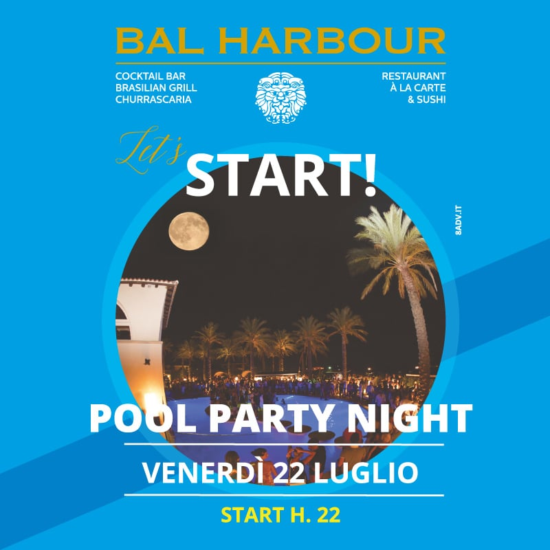 Pool Party Night 22 luglio 2016