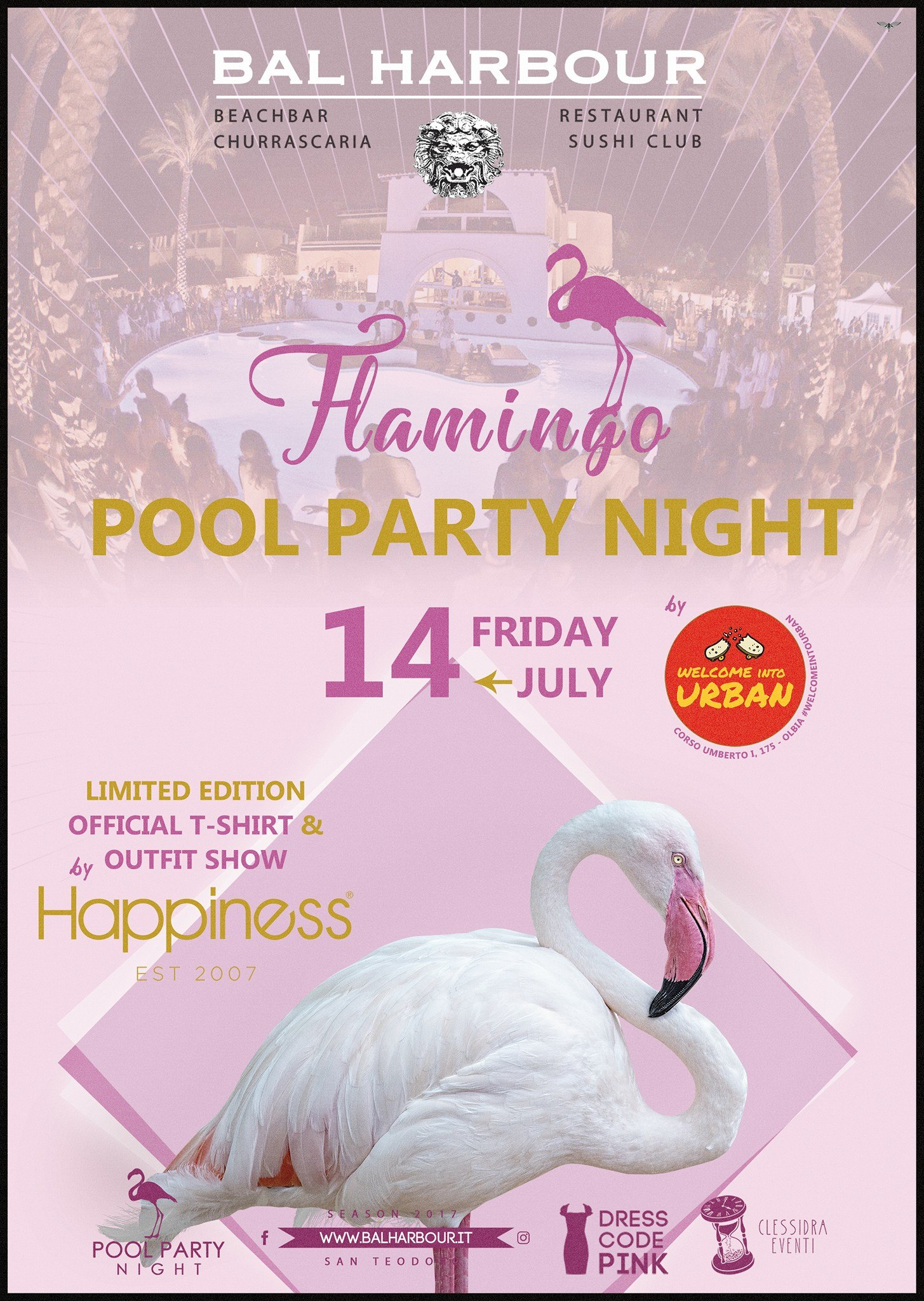 flamingo bh pool party