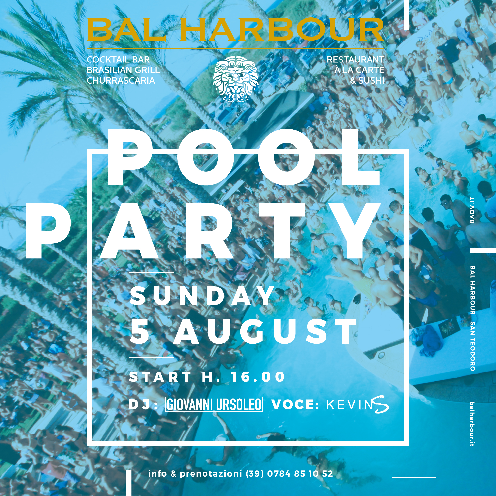 Pool Party Bal Harbour