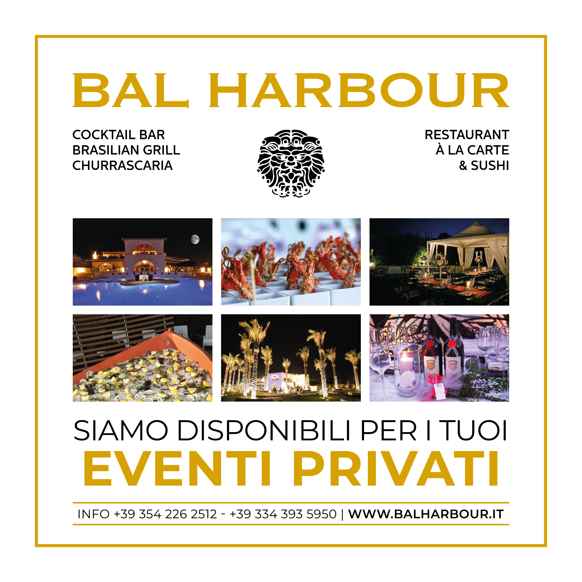 eventi privati Bal Harbour