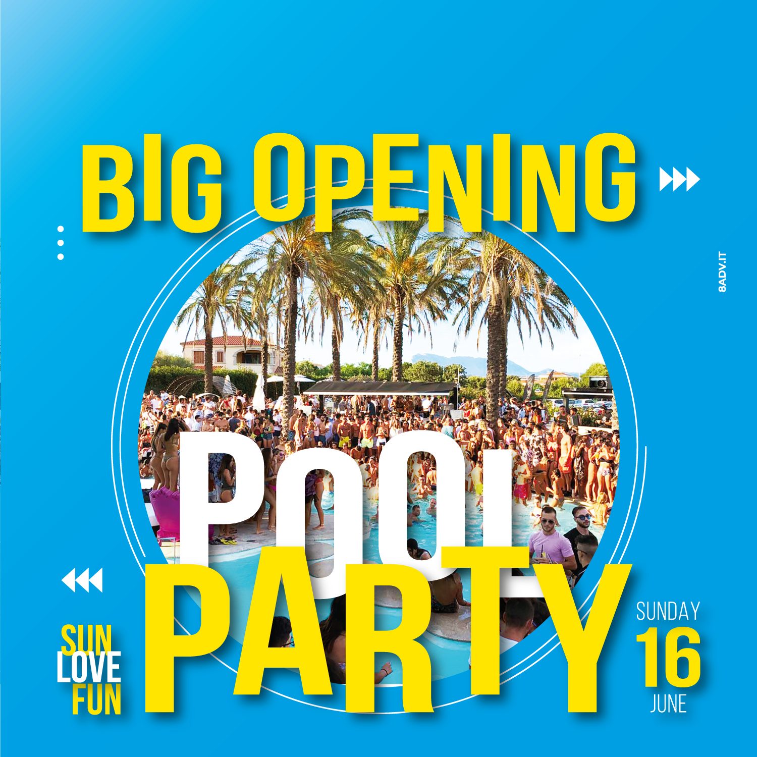 Big Opening Pool Party 2019