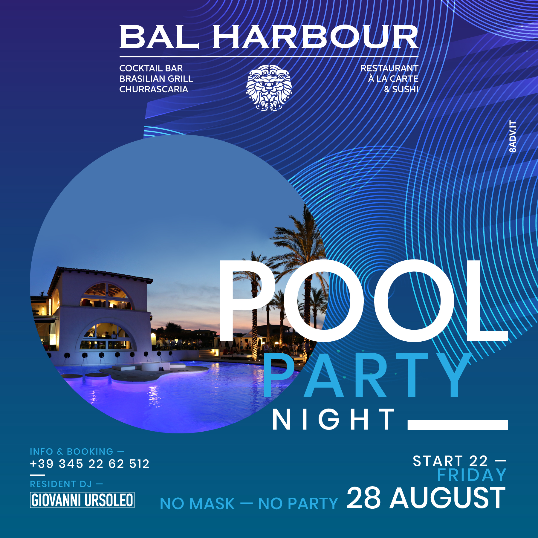 Pool Party Friday Night