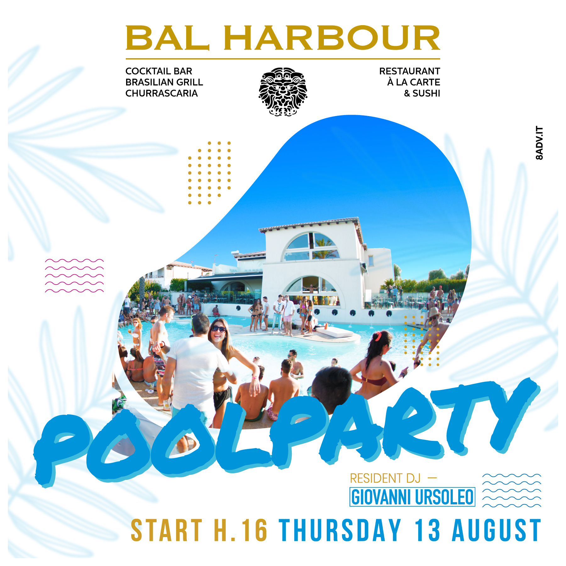 POOL PARTY DAY THURSDAY
